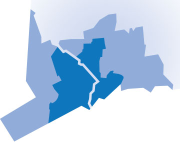Stratford VNA Territory Map