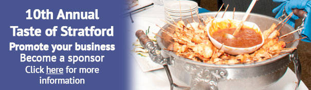 Promote your business at the 10th annual Taste of Stratford
